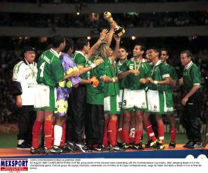 México gana su primera Copa Confederaciones en 1999 (Foto de Mexsport).